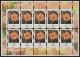 2505 Blumen 35 Cent Dahlie - Zehnerbogen ** Postfrisch - BRD
