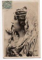 REUTLINGER PARIS * FEMME * OTERO  *  AUTOGRAPHE * Carte Glacée *118/14 - Artiesten