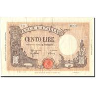 Billet, Italie, 100 Lire, 1944, 1944-11-11, KM:67a, TTB - [ 1] …-1946: Königreich