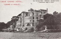 Cartolina- Postcard / Non Viaggiata - Unsent /  Rapallo, New Casino Hotel. - Genova