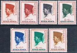 Indonesia 1965  -  Michel  473 / 76 + 479 / 80   ( Nuevos )  ( ** ) - Indonesia