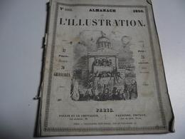 Almanach , L'ILLUSTRATION , 1850 - Calendriers