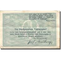 Billet, Autriche, Putzleinsdorf, 50 Heller, Village, 1920 TTB+ Mehl:FS 804a - Austria