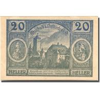 Billet, Autriche, Hofkirchen, 20 Heller, Château, 1920 SPL Mehl:FS 386Id2 - Austria