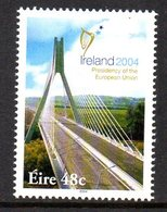 Ireland 2004 EU Presidency Bridge, MNH, SG 1628 - Unused Stamps