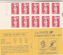 Saint Pierre Et Miquelon Yvert Carnet 557 ** Marianne Bicentenaire De Briat - Date 14/11/91 - Markenheftchen