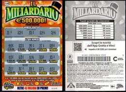 Gratta E Vinci - IL MILLIARDARIO - Biglietti Della Lotteria