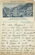 Pays Div -ref T590- Suisse -finhaut -grand Hotel Bristol -/ Etat : Petit Coin Haut Droit Manquant - - Schweiz