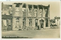 Middelburg; Sint Joris (na Bombardement In 1940) - Niet Gelopen. (F.B. Den Boer - Middelburg) - Middelburg
