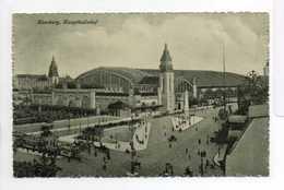 - CPA HAMBURG (Allemagne) - Hauptbahnhof - Verlag Iwan Franck 101 - - Allemagne
