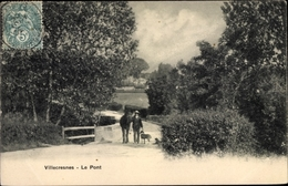Cp Villecresnes Val De Marne, Le Pont, Chien - Otros Municipios