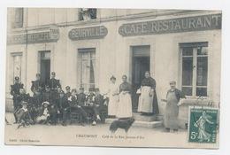 CHAUMONT 52 CAFÉ RESTAURANT ÉPICERIE MERCERIE BEURVILLE RUE JEANNE-D'ARC - Chaumont