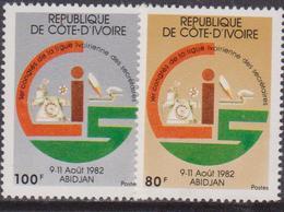Costa D'Avorio / Ivory Coast / Code D'ivoire - Cominication Set MNH - Scienze