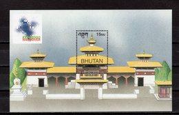 BHUTAN - 2000 HANNOVER WORLD'S FAIR  M1168B - 2000 – Hannover (Germania)