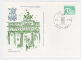 DDR Card Berlin 1987 750 Jahre Berlin (DD11-10) - Storia