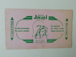 Buvard Publicitaire Ancien Eskual Jokari - Sports