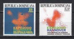 DOMINICAN REPUBLIC - 2000 HANNOVER WORLD'S FAIR  M1171 - 2000 – Hannover (Germania)