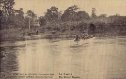 RUANDA-URUNDI 1918 : PWS/E.P./P.St.-ILLUSTR.** Nr 21 - 5 C. : RIVIER,RIVIERE,RIVER,NAVIGATION,PRAUW,PIROGUE,PRAU, - Stamped Stationery