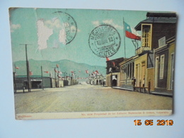 Mejillones. Editores Mattensohn & Grimm 4104 Postmarked 1913. Dans L'etat!!! - Chile