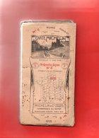 CARTE MICHELIN De LA FRANCE. N° 6. Saint-Quentin-Reims Du Nord Au Sud Toilée. 1914-1918 VOIR SCANNES - Roadmaps
