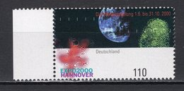 GERMANY - 2000 HANNOVER WORLD'S FAIR  M1173 - 2000 – Hanover (Germany)