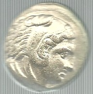 Grecia, Macedonia, Alessandro III Magno, Bella Riproduzione Di Tetradramma In Ag. Gr. 11, Cm. 2,6 X 3. - Gettoni E Medaglie