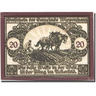 Billet, Autriche, Wippenham, 20 Heller, Agriculteur, 1920 SPL Mehl:FS 1247a - Austria