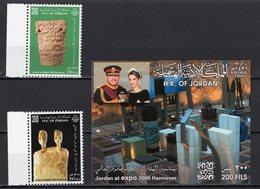 JORDAN - 2000 HANNOVER WORLD'S FAIR  M1176 - 2000 – Hanover (Germany)