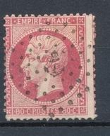 N°24 OBLITERATION ANCRE - 1862 Napoleon III