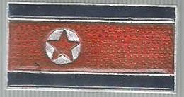 Bandiera Corea Del Nord, Mistura, Cm. 3 X 1,5, Spilla. - Pin's