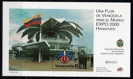 VENEZUELA - 2000 HANNOVER WORLD'S FAIR  M1182 - 2000 – Hannover (Germania)