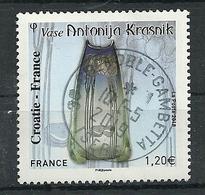 FRANCIA 2018 - YV 5276 France - Croatie - Cachet Rond - France