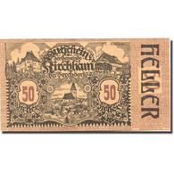 Billet, Autriche, Kirchham, 50 Heller, Château 1920-05-09, SPL Mehl:FS 446 - Autriche