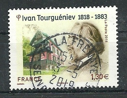 FRANCIA 2018 - YV 5283 Ivan Tourguéniev - Cachet Rond - France