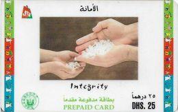 UAE - Etisalat - Dubai Shopping Festival (Integrity), Remote Mem. 25Dhs, Used - Verenigde Arabische Emiraten