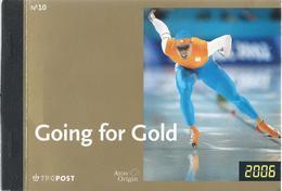NL.- Going For Gold. TPG Post. Prestigeboekje10. Olympische Winterspelen. Nederland Schaatsland. 1952-1960 Koude Start. - Zomer 1952: Helsinki