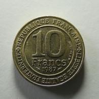 France 10 Francs 1987 Millenaire Capetien - France