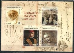 2019 LEONARDO DA VINCI Foglietto Nuovo ** MNH Bellissimo - 2011-...:  Nuovi