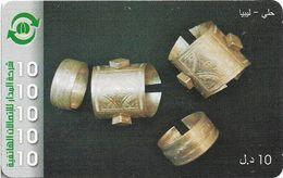 Libya - Almadar - Bracelet, 10LD Prepaid Card, Used - Libia