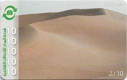 Libya - Almadar - Desert, 10LD Prepaid Card, Used - Libya