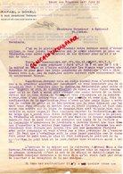 87- SAINT JUNIEN-92-BECON LES BRUYERES- RARE LETTRE RAFAEL DE GONELL- VENEZUELA-GANTERIE VERGNIAUD RATINAUD 1930 - Old Professions