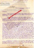 87- SAINT JUNIEN-92-BECON LES BRUYERES- RARE LETTRE RAFAEL DE GONELL- VENEZUELA-GANTERIE VERGNIAUD RATINAUD 1930 - Ambachten