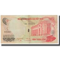 Billet, South Viet Nam, 500 D<ox>ng, KM:28a, TB - Viêt-Nam