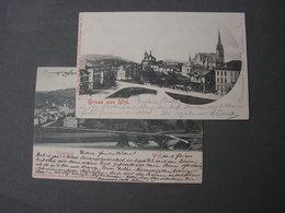Wil 2 Alte Karten  ,  1 Hat Bug 1900-1901 - SG St. Gall
