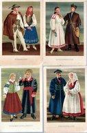 LOT 13 CPSM POLOGNE  NEUVES - COUPLES EN COSTUMES TRADITIONNELS - Cartes Postales