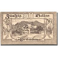 Billet, Autriche, Grünau, 50 Heller, Hôtel 1920-11-31, SPL Mehl:FS 300b - Austria