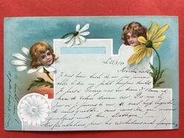 1899 - KINDEREN EN BLOEMEN - ENFANTS ET FLEURS - Humorous Cards