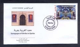 Tunisie 2019- FDC La Synagogue De La Ghriba De Djerba - Tunisia