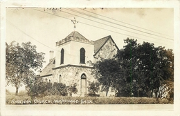 WHITEWOOD, SASK - ANGLICAN CHURCH ~ AN OLD REAL PHOTO POSTCARD #87911 - Other