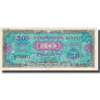 France, 50 Francs, 1945 Verso France, 1945, 1945, TTB, Fayette:19.1, KM:117a - Treasury